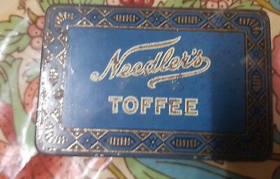 Needlers Antique Toffee Tin