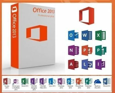 Office Professional Plus 2013 32/64 Bit PRODUCT KEY DOWNLOAD LINK