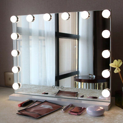 Makeup Mirror LED Light String for Table Wall Lamp with Dimmable Touches Control