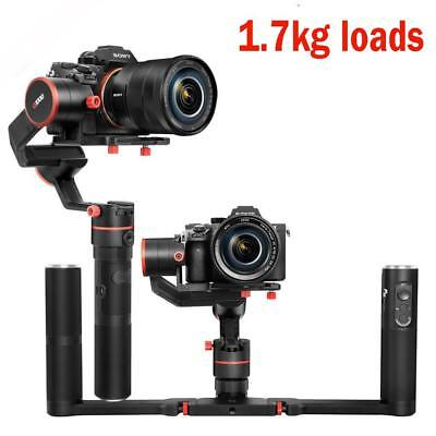 Feiyu a1000 3-Axis Gimbal Stabilizer for Mirrorless Camera w/ Dual Handle Grip B