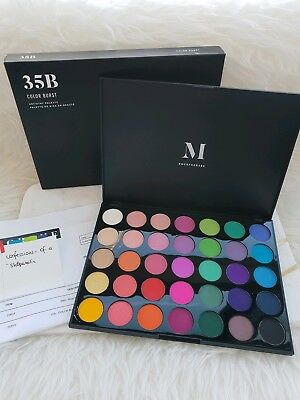 TRUSTED AUS SELLER - 35B Colour Burst by MORPHE - Authentic Eyeshadow Palette