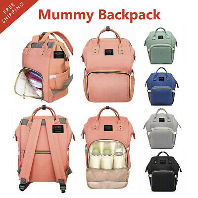 Multifunctional Baby Diaper Backpack Nappy Waterproof Mummy Changing Bag Luxury