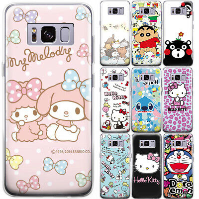 Cartoon Stitch Hello Kitty Pattern Phone Case Cover For Samsung Galaxy Note 9