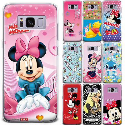 Disney Stitch Winnie the Pooh Pattern Phone Case Cover For Samsung Galaxy Note 9