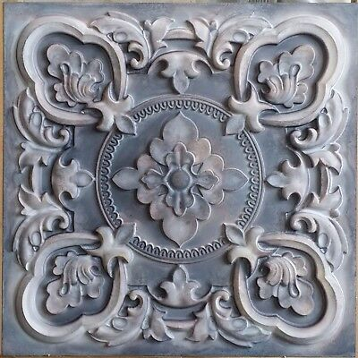 Ceiling tile faux paint tin old wood Decorative 3D wall panels PL30 10tile/lot