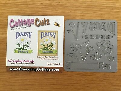 "Cottage Cutz Daisy Floral Cutting Die 4"" x 4"""