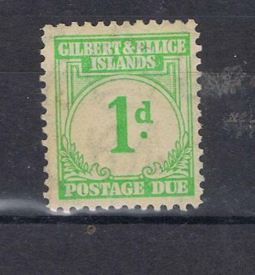 Gilbert and Ellice Islands 1940 1d Postage Due SG D1 MNH