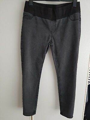 Ladies New Look Maternity Emilee Under Bump Jeggings Size 14