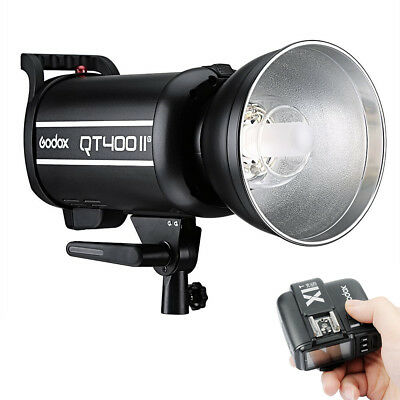 Godox QT-400IIM 400W 2.4G X-System Studio Strobe Flash Light + X1T-S Transmitter