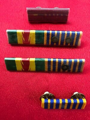Fire Brigade Collectables - Ribbon Bars x 4 for collector