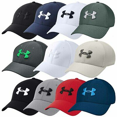2018 Under Armour Mens Blitzing 3.0 Cap UA Golf Sports Stretch Fit Baseball Hat