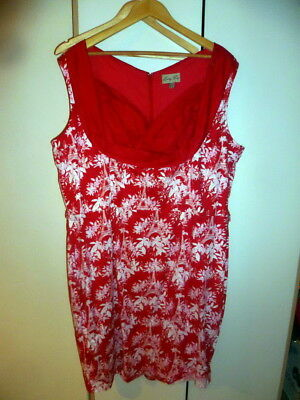 LINDY BOP  Dress  Red  size 26
