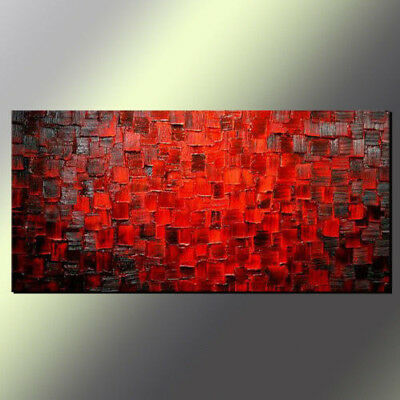 VV060 Modern Home decoration Hand-painted Abstract oil painting Color square