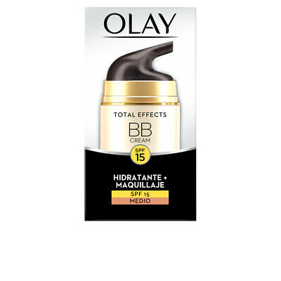 Cosmética Olay mujer TOTAL EFFECTS BB CREAM SPF15 #medio 50 ml