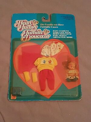 The Heart Family Mattel 4686 Vintage 1987 Ovp Baby Fashion Mode Fashions Moden