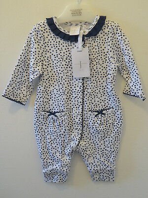 JASPER CONRAN Baby Girls Outfit Playsuit Day Romper Newborn 0-3 Months NEW TAG