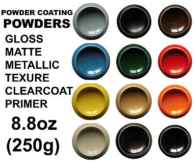 Powder Coating Powder 6.3oz/180g High quality RAL color Gloss Matte Primer Clear