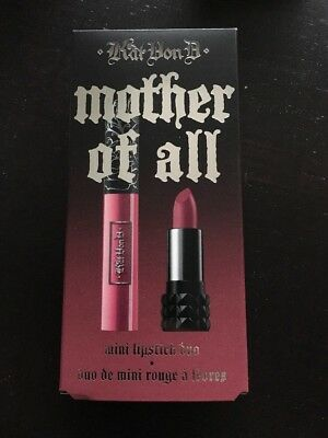 Kat Von D Mother Of All Mini Lipstick Duo