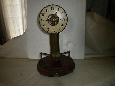 French Bulle Clock  pendule electrique bulle clock 1920