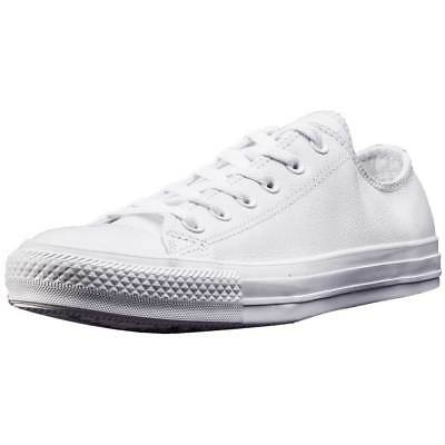 Converse Chuck Taylor All Star Ox Unisex White White Leather Trainers