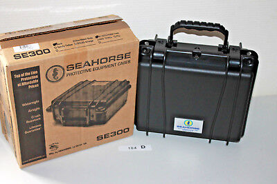 Seahorse Se300 Equipment Koffer Uw Case Surfer Diver Water Dust Air Proof (Hov