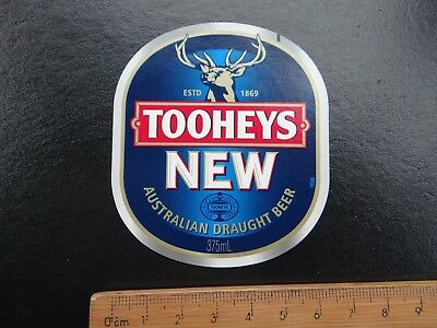 1 x 375ml TOOHEYS NEW COLLECTABLE BEER LABEL