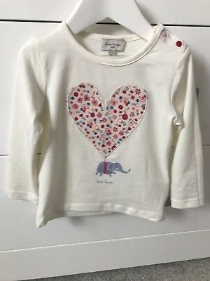 Paul Smith (Brand New) Baby Girls Top - Size 18months
