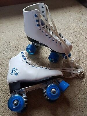 Quad Roller Skates Size 4 With Box