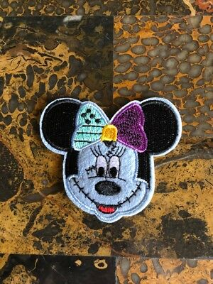 "1 Minnie Mouse Halloween Iron On Sew On Patch 2.5"" L x 2.75"" W Same Day Ship"