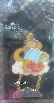 Disney DLR - Peter Pan's Flight Ride Swivel & Dangle Pin