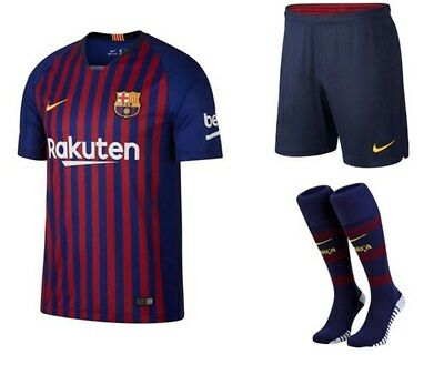 official photos 248e7 db723 NIKE BARCELONA AWAY Kit Shirt 2018/19 - Kids - £69.99 ...