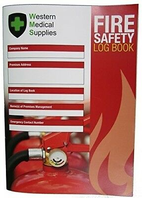 Fire Log Book - Fire Safety Log Book A4. Ideal For Any Business.