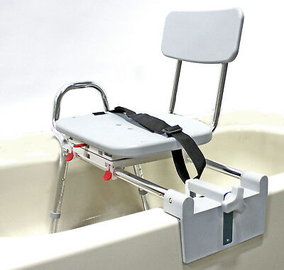 Eagle Health Supplies Tub-Mount Swivel Sliding Bath Transfer Bench REG. 350Lbs.