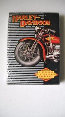 Factory Sealed 1997 Harley Davidson Historical Playing Cards 1903-1950