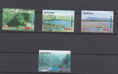 Laos 2010 Mekong Landscapes Set Mint Never Hinged