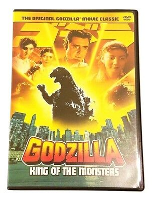 Godzilla, King of the Monsters 1956 Film - Japanese Sci-Fi Fantasy DVD, 2002