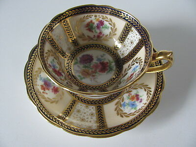 Paragon Her Majesty Queen Mary Cup and Saucer Signed Robinson