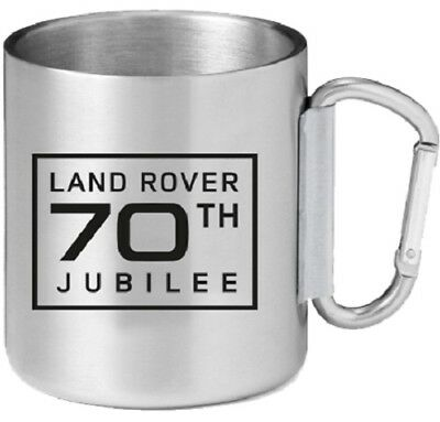 Official Land Rover Merchandise 70th Jubilee Mug