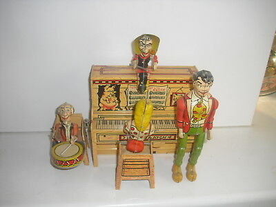 UNIQUE ART  lil abners dog pach band musikband 1945 USA