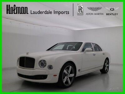 Bentley Mulsanne Speed 2016 16 BENTLEY MULSANNE SPEED * CERTIFIED WARRANTY * PREMIER * COMFORT * WiFi *