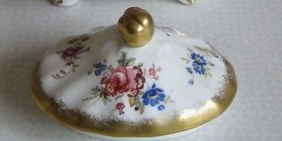 LID ONLY for Stunning Floral Gold Lady Patricia Hammersley Teapot