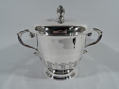 Peter Guille Trophy - English Georgian Covered Cup - American Sterling Silver