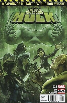 Totally Awesome Hulk #22 Wmd First Weapon H Marvel Comics Near Mint 8/16/17