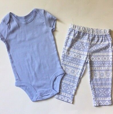 Baby Girl's Two-Piece Outfit, Carter's, Size 6 Months