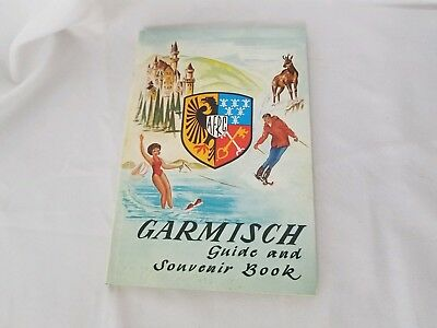 Garmisch Guide And Souvenir Book AFRC vintage in good condition 180 pages