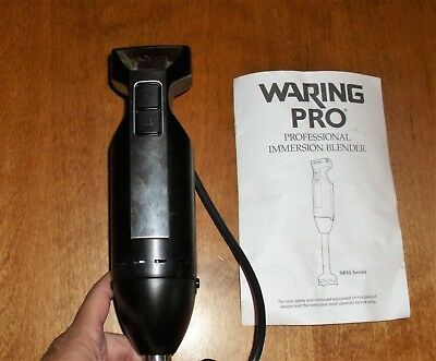 WARING PRO PROFESIONAL IMMERSION BLENDER SB10 series