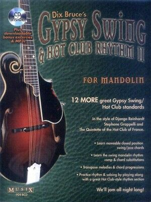 Mandoline Mandolin Play-Along #5 Gypsy Swing Songbook Noten Tab mit CD