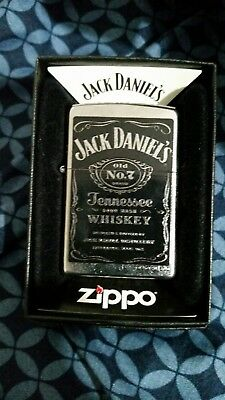 Zippo 24779 Jack Daniels Label Windproof Lighter