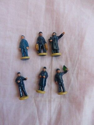 Dinky Toys / Hornby Dublo 051 Diecast Figures – Station Staff (Set Of 6)