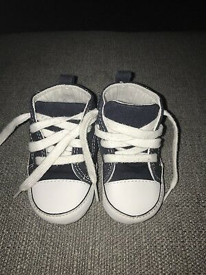 Converse Crib Shoes Size 4